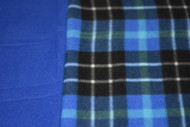 Blue Tartan pre-order for small car seat poncho