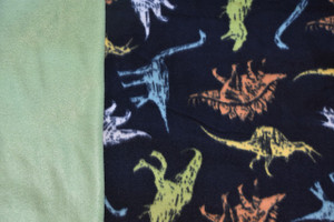 Dinosaurs car seat poncho fabric
