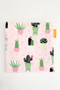 Cactus on Pink snack bag