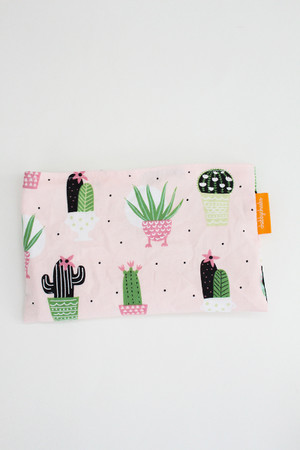 Cactus on Pink small snack bag