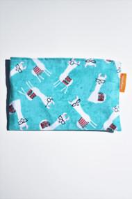 Studious llama snack bag size small