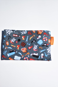 Grey Pirates snack bag size small