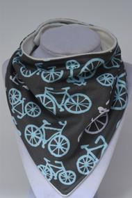 Bandana Bib - Blue Bikes