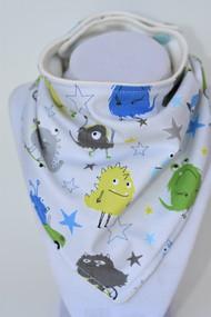 Little Monsters bandana bib