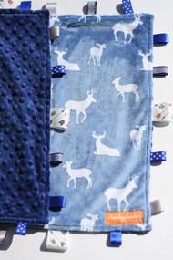 Deers size large tag blanket