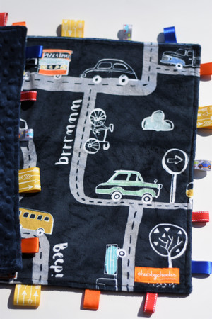 On the Road large tag blanket