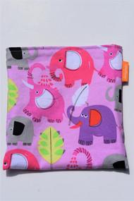 Pink Elephant snack bag size large