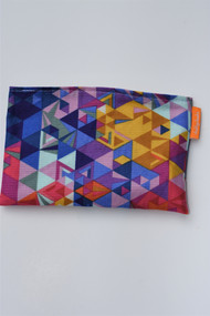 Colourful Angles size small snack bag