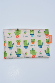 size small snack bag in catcus