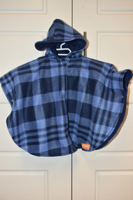Navy / Blue car seat poncho size small