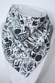All together navy bandana bib with bamboo back