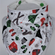 Bandana Bib - Holiday - Winter Fun