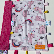 Tag Blanket (large) - Unicorn Cat