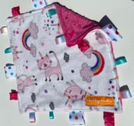 Tag Blanket (small) - Unicorn Cat