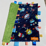 Tag Blanket ( large) - You Scare Me!
