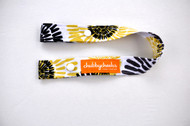 Toy Strap - Yellow and Grey Starburst
