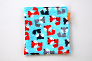 Blue Foxes snack bag