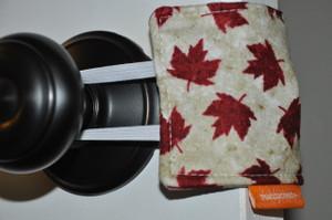 Maple Leaf door silencer