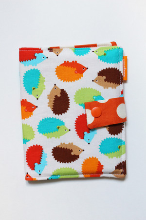 Hedgehogs crayon wallet
