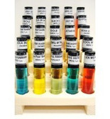 1/3 oz [10 ml] Wooden Roll On Display With Fragrance [25 Count]