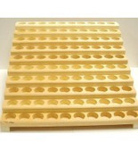 1/3 oz [10 ml] Wooden PLAIN Roll On Display [100 Count]