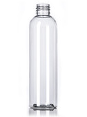 4 oz Clear PET Round Bottle with 20-410 Neck Finish