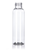 2 oz Clear PET Bullet Round Bottle with 20-410 Neck Finish