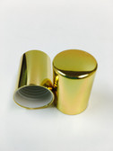10mm Aluminum Shiny Gold Caps For 5ml & 10ml Roll on Bottle