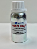 Amber Liquid Concentrated Fragrance With Aluminum Bottle [4 fl. oz]