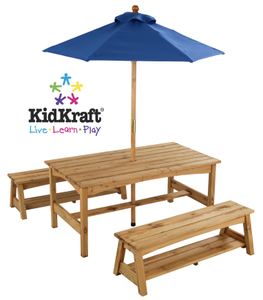 Kidkraft Outdoor Table with Umbrella