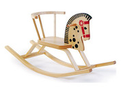 Offi and Co. Baltic Rocking Horse Wood Kid's Rocker and Bedroom Accessory
