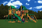 Gorilla Playsets Pioneer Peak Supreme  - Canvas Forest Green Sunbrella