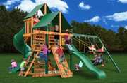 Gorilla Playsets Great Skye I Supreme - Canvas Forest Green Sunbrella