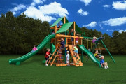 Gorilla Playsets Great Skye II Deluxe - Green Vinyl