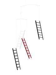 Flensted Mobiles 7 Steps 4 Ladders Mobile