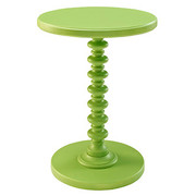 Powell Round Spindle Table - Green
