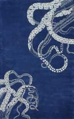 nuLOOM Rugs Elegance Octo Navy Area Rug