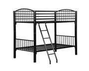 Powell Black Econo Bunk Bed - Twin
