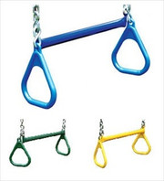 Gorilla Playsets Playset Accessory 21-Inch Trapeze Bar with Rings