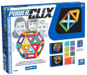 Guidecraft PowerClix Classroom Set - 74 Pieces