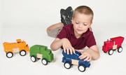 Guidecraft Block Mates - Construction Vehicles