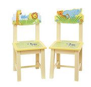Guidecraft Savanna Smiles Extra Chairs - Set of 2
