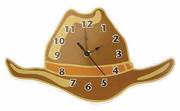 Trend Lab Baby Barnyard Wall Clock - Cowboy Hat