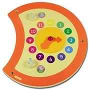 Hape Toys Caterpillar Clock Wall Panel DS