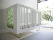 Spot on Square Alto Crib - Green Strands