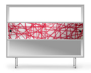 Spot on Square Alto Shelving - Red Strands