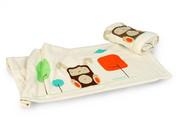 Mezoome Design Wabbit Organic Baby Blanket