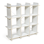 Sprout Kids 9 Cubby Organizer - White