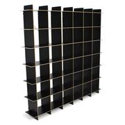 Sprout Kids 36 Cubby Large Bookshelf - Black