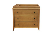 DAVINCI Highland 3-Drawer Changer Dresser in Chestnut